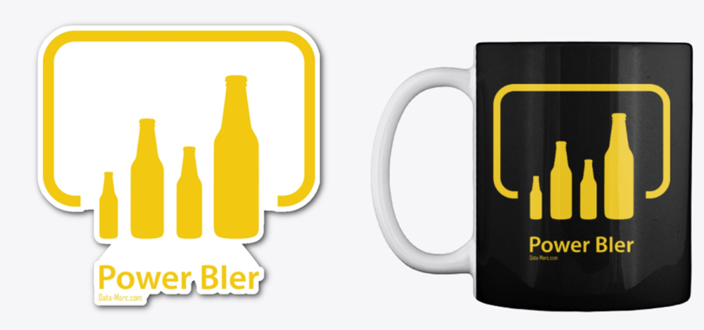 PowerBIer Mug Sticker