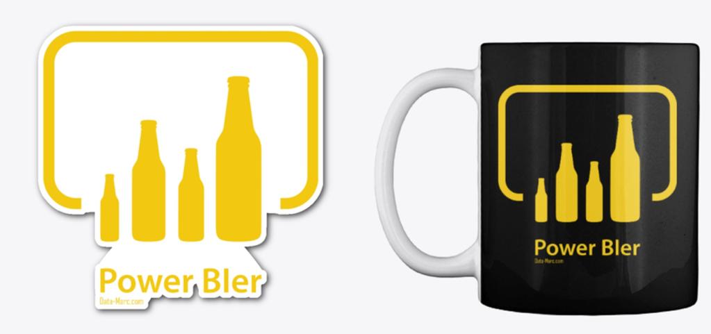 PowerBIer Mug Sticker