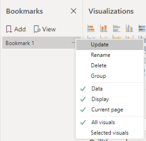 Bookmark Settings